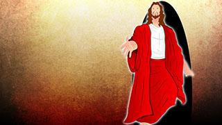 Jesus Illustrated Background 05