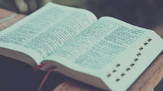 Bible Vintage Look Stock Photo