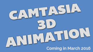 Camtasia 3D Text Animations Vol 14/
