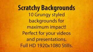 Scratchy Backgrounds