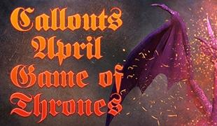 April 2016 Game of Thrones, Spokesperson, Vintage Camtasia Intro