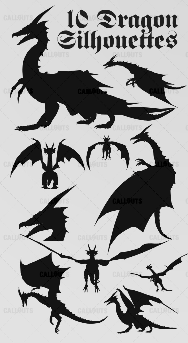 DragonSilhouettesOverview