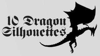 Dragon Sihouettes Transparent