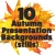 Autumn Presentation Background Graphics