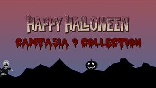 Halloween Special Camtasia 9 Template Collection