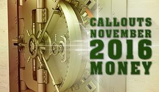 Money! November 2016