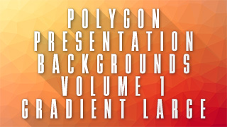 Low-Poly Gradient Large Background 01