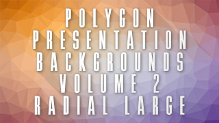 Low-Poly Radial Large Background 02