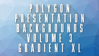 Low-Poly Gradient XL Background 03