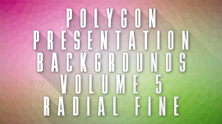 Low-Poly Radial Fine Background 06