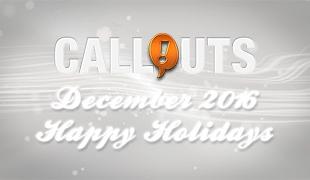Happy Holidays – December 2016