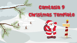 Camtasia 9 Christmas/Holiday Template