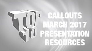 Callouts March New Presentation Resources