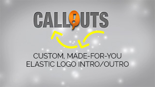 Custom Elastic Logo Intro