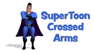 SuperToon 3D Crossed Arms