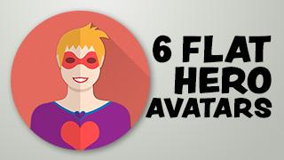 Hero Avatar Icons