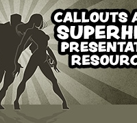 Callouts SuperHero Presentation Resources