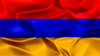 Armenia Silky Flag Graphic Background