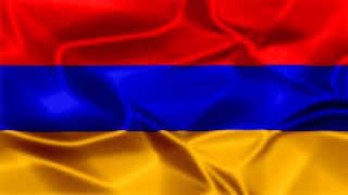 Armenia Silky Flag Graphic Background