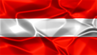Austria Silky Flag Graphic Background