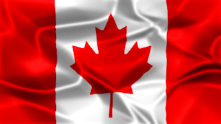 Canada Silky Flag Graphic Background