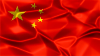 China Silky Flag Graphic Background