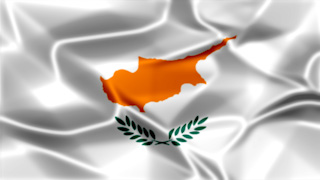 Cyprus Silky Flag Graphic Background