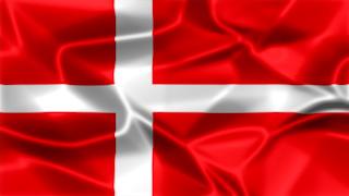 Denmark Silky Flag Graphic Background
