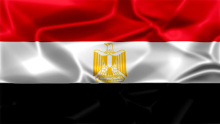 Egypt Silky Flag Graphic Background