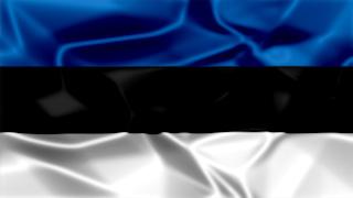 Estonia Silky Flag Graphic Background