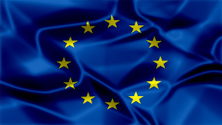 EU Silky Flag Graphic Background