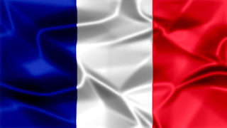 France Silky Flag Graphic Background
