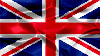 UK Silky Flag Graphic Background