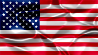 USA Silky Flag Graphic Background