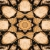 Wood Star Kaleidoscope Loopable Video Background