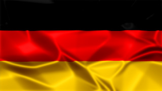 Germany Silky Flag Graphic Background
