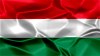 Hungary Silky Flag Graphic Background