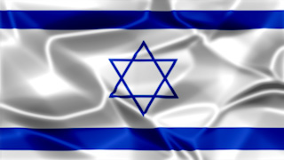 Israel Silky Flag Graphic Background
