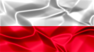 Poland Silky Flag Graphic Background