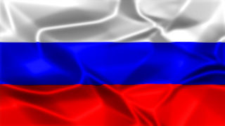 Russia Silky Flag Graphic Background