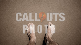 Feet on Beach Text Space