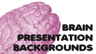 Brain Presentation Backgrounds White