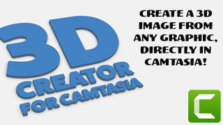 3D Creator for Camtasia