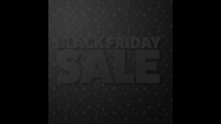 Black Friday 3D Text Sale Graphics