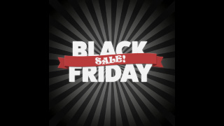 Black Friday Stripes and Banner Sale Graphics