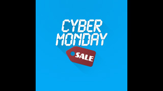 Cyber Monday Price Tag Sale Graphics