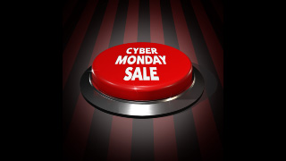 Cyber Monday Push Button Sale Graphics