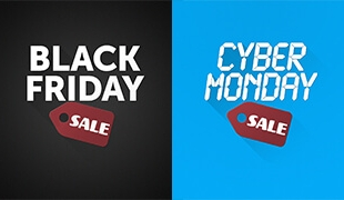 Black Friday/Cyber Monday Sales Graphics