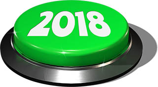 Big Juicy Button: 2018 Green