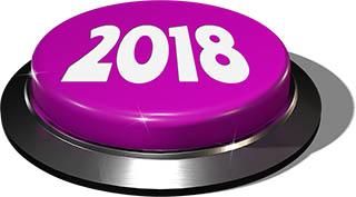Big Juicy Button: 2018 Purple